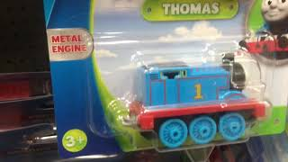 Documenting the Thomas stock at Walmart.