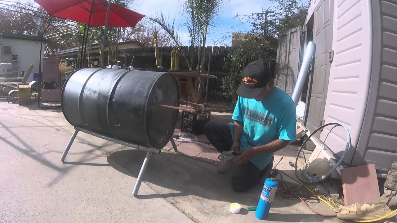 Wood Burning Pool Heater By Polo Santoyo Youtube
