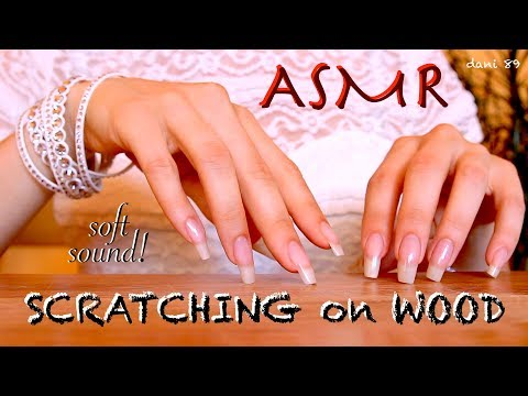 CHALLENGE ✅Can U see what I'm writing? I bet you fall asleep before 😜 SOFT SCRATCHING on WOOD 🆕ASMR🎧
