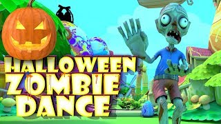 Cartoon Zombie Halloween Dance : Kids Funny Nursery Rhymes