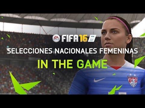 FIFA 16 contará con selecciones femeninas