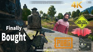 Player Unknown Battleground My First Ever Paid PC Game - PUBG PC Gameplay 4K