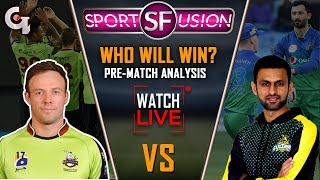 Multan Sultans vs Lahore Qalandars Live Pre Match Analysis | Sports Fusion Live | GTV News