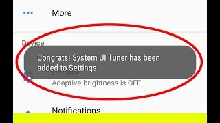 Nokia 3/5/6 Hidden Features!!Enable System Ui Tuner Settings