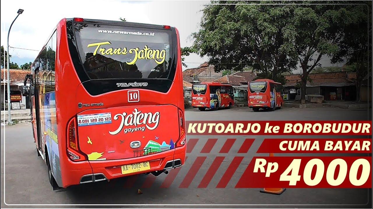 KE BOROBUDUR MURAH MERIAH | BRT Trans Jateng Kutoarjo - Borobudur