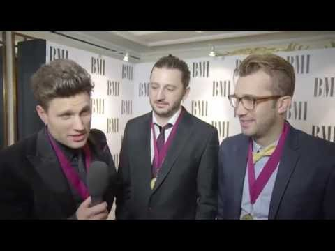 Jamie Scott, Julian Bunetta & Ronnie Vindahl Interview - The 2014 BMI London Awards