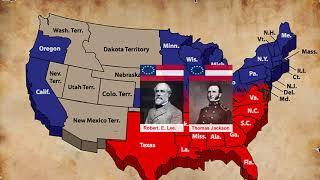 Download lagu Tóm tắt nhanh Nội chiến Hoa Kỳ 1861-1864