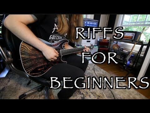 Famous Riffs For Beginners ( Start Rocking!!!)