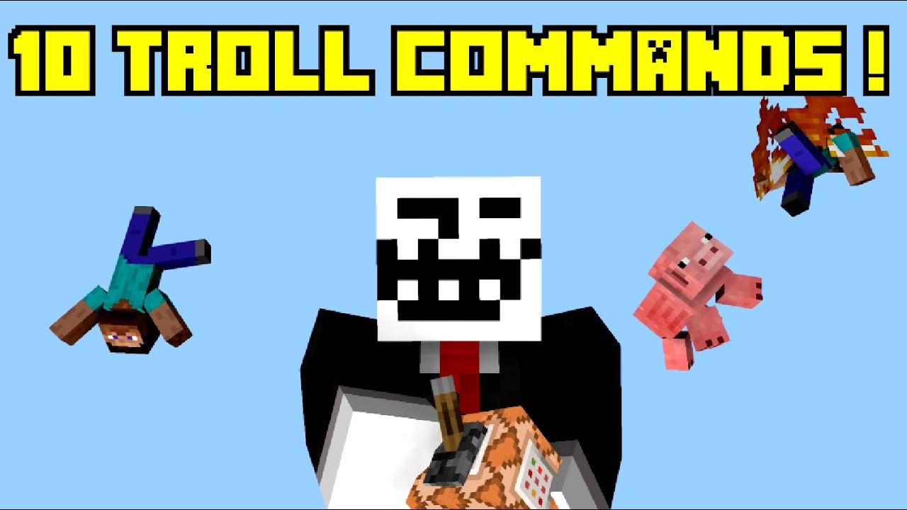 minecraft command block trolling machine