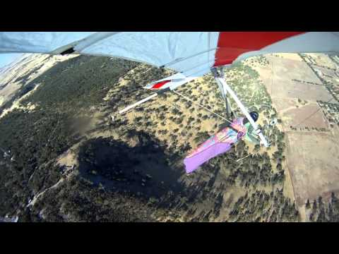 Hang Gliding at Mt Bakewell in York, Western Australia