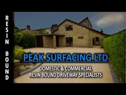 Peak Surfacing - Resin Bound Paths and Driveways