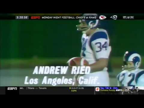13 Year Old Andy Reid Punt Pass Kick Competition (1971)