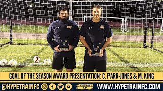 Hype Train FC Awards: Callum Parr-Jones & Martin King presented with Goal of the Season Awards