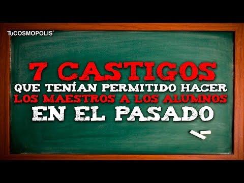 7 CASTIGOS que TENÍA PERMITIDO hacer LOS MAESTROS a LOS ALUMNOS en EL PASADO