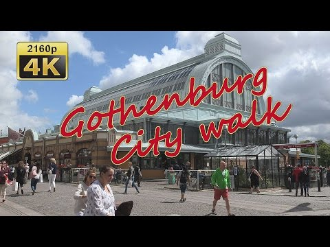 Gothenburg, City Walk - Sweden 4K Travel Channel