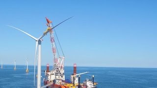 GE is harvesting energy in first offshore wind farm