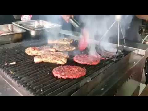 Cara Grill Ayam How To En By Burger Warisan Gazebo