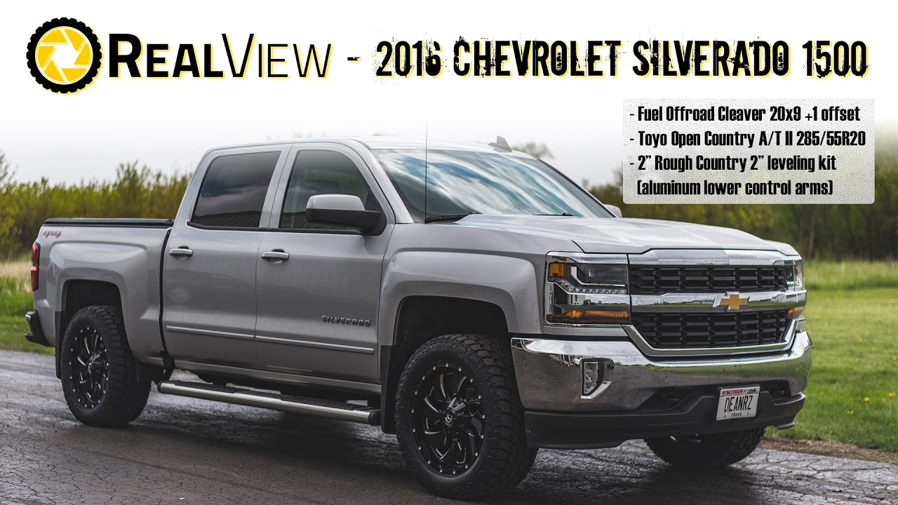 Realview Leveled 2016 Chevy Silverado 1500 W 20 Fuel Cleavers 32 Toyo Tires