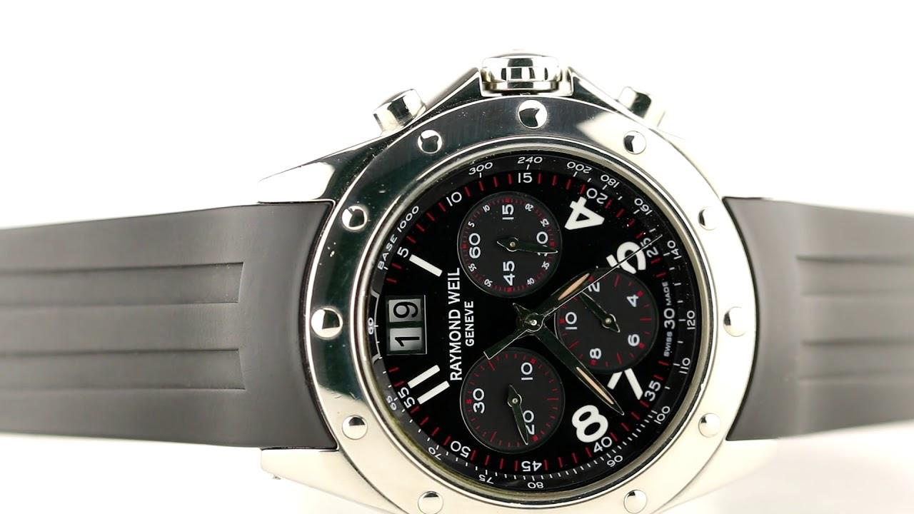 grande vente vente énorme super service Les montres Raymond Weil Tango Chronograph Réf 4895 d'occasion de  demcoquartz.com