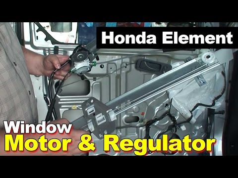 2003-2009 Honda Element Window Motor & Regulator