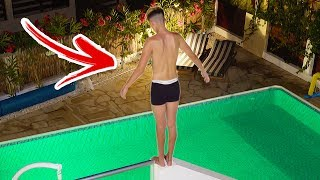 Kid takes celebrating Way too far... **MUST WATCH**