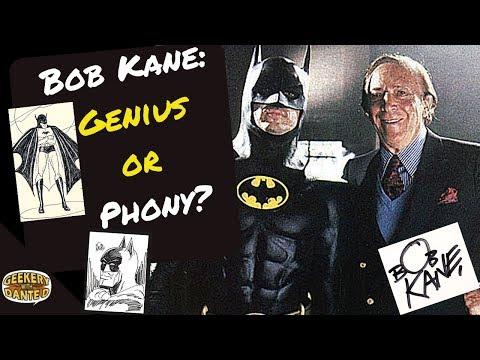 Bob Kane: Genius or Phony?