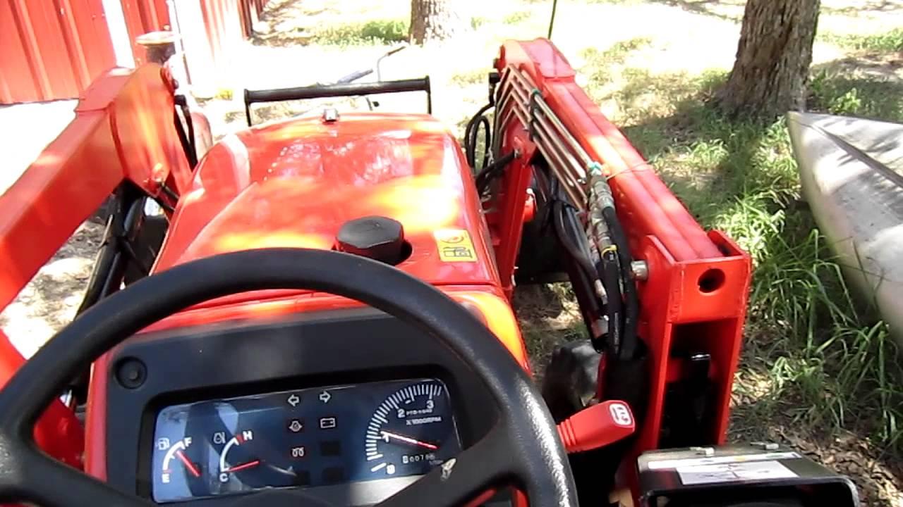 L3400 Kubota Tractor W Loader : Kubota l dt tractor w loader for sale with