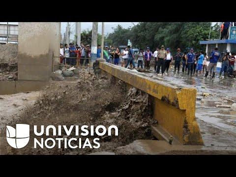 Emergencia nacional en Perú por inundaciones y derrumbes que dejan decenas de muertos y heridos