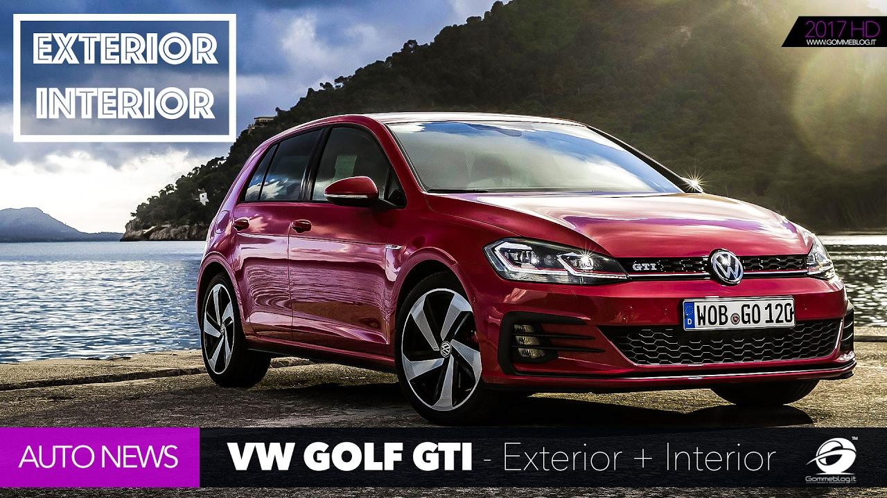 2018 Volkswagen VW GOLF GTI  INTERIOR  EXTERIOR New Design