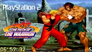 Art of Fighting 3 playthrough (PS2)