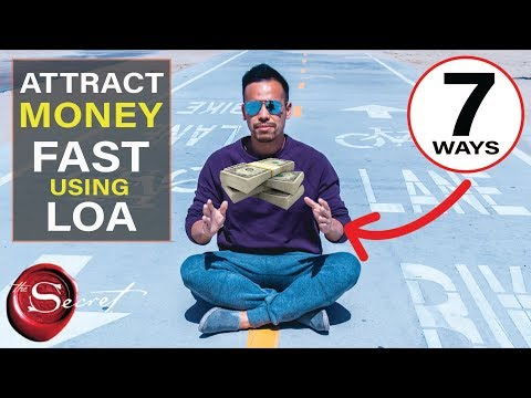7 Ways to Manifest Money Fast | Law of Attraction [This Really Works!!]