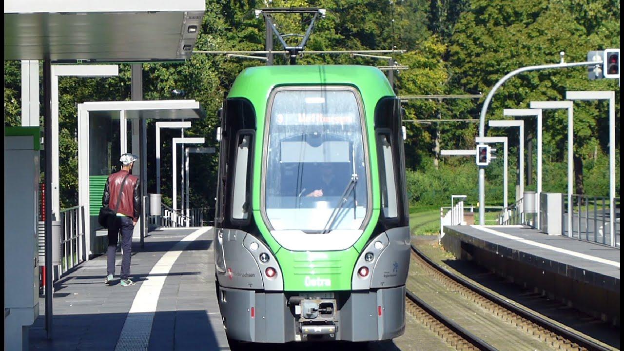 linie 3 altwarmb chen zentrum stadtbahn hannover youtube