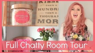 Full Chatty Room Tour!