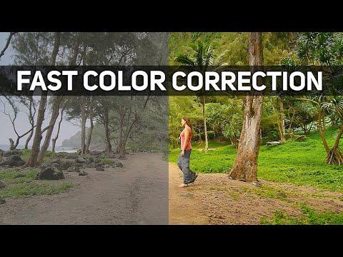 COLOR CORRECTION in Premiere Pro CC 2018 (Lumetri Color Tutorial)