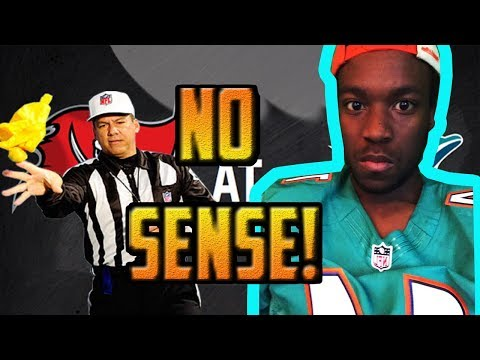 IM SICK!! ANGRY DOLPHINS FAN REACTS TO DOLPHINS LOSING TO THE BUCCANEERS 11/19/2017