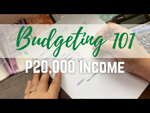 Budgeting 101: How to Budget P20,000 Income