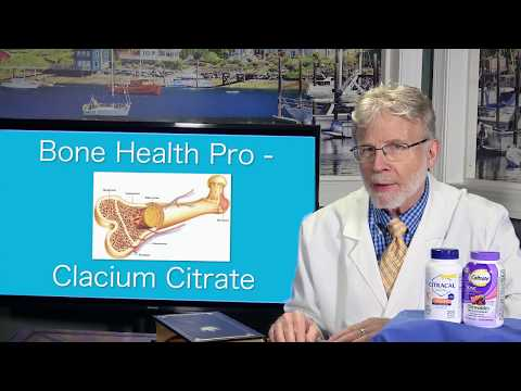 Bone Health Pro - Calcium Citrate Superior Bone Health Supplement