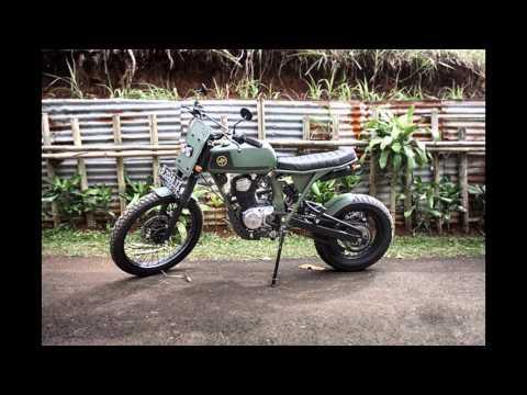 Video Modifikasi Motor Klasik Honda Cb 125 Modif Trail