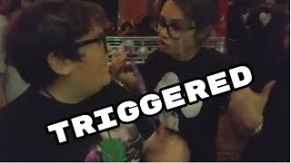 Drunk Andy Milonakis Tears Twitch Pass. Girl Gets Triggered!