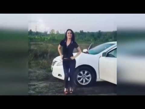 Танцы у авто ( нарезка )