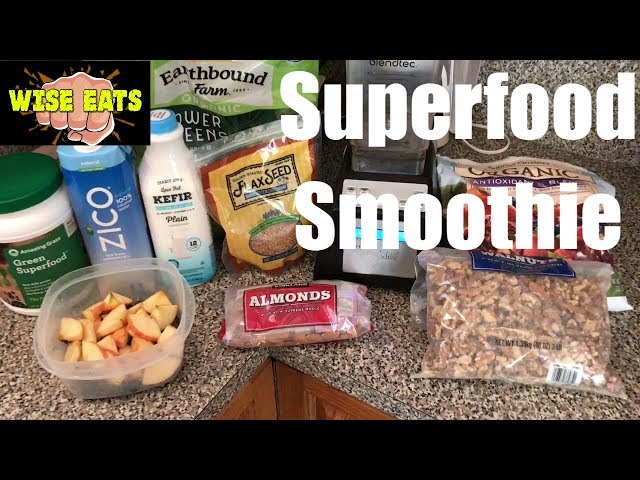 Wes Sider Smoothie for Energy, Weight Loss, Recovery (As seen on The Following Announcement)