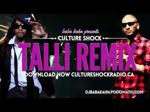 Baba Kahn Culture Shock Sunny Brown feat Lil Jon - Talli Remix NEW 2016