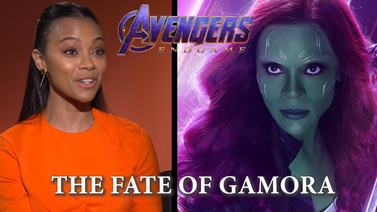 Zoe Saldana On Avengers Endgame And The Fate Of Gamora