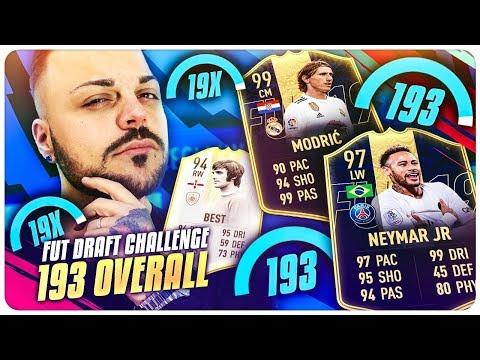 """BEST"" 193 FUT DRAFT CHALLENGE !!! FIFA 19 thumbnail"