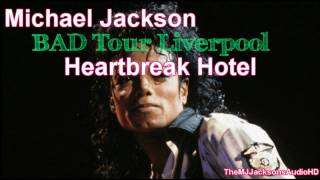 Michael Jackson - Heartbreak Hotel Live BAD Tour Liverpool 1988 HDA