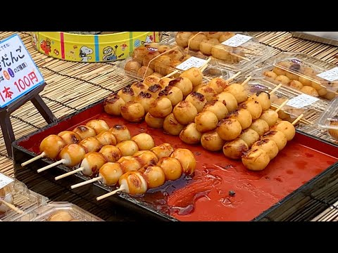 BEST Street Food in Japan | Japanese Food & Flower Festival