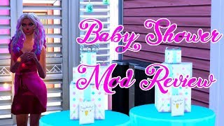 The Sims 4 Baby Shower Mod