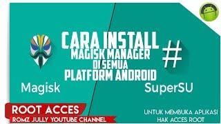 Cara Root Android Dengan Magisk Manager Di Semua Platform Android