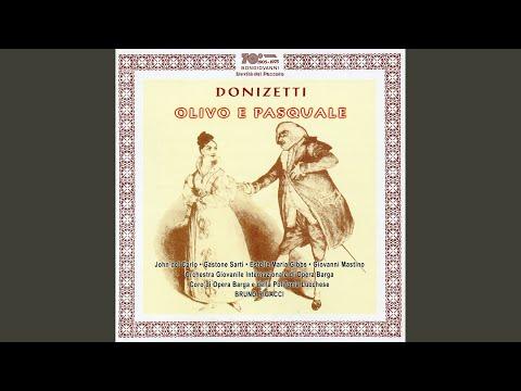 Olivo E Pasquale, Act II: Act II Scene 2: Grazie, Ggrazie; Ma Voi Siete (Le Bross, Isabella)