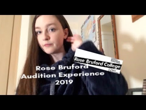 Rose Bruford Audition Experience 2019 | Auditioning For Drama Schools